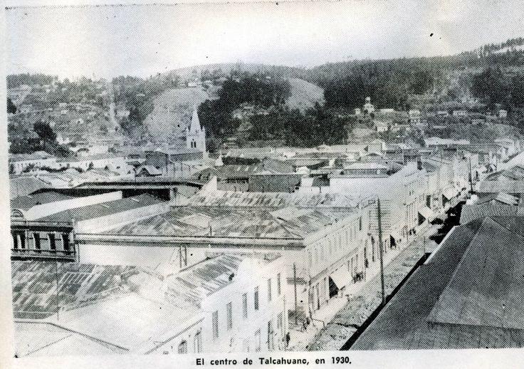 Centro de Talcahuano en 1930.