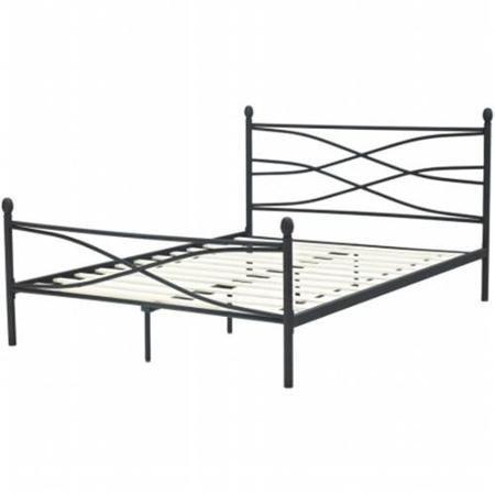 hanover hbedsoho fl soho full metal bed frame walmartcom