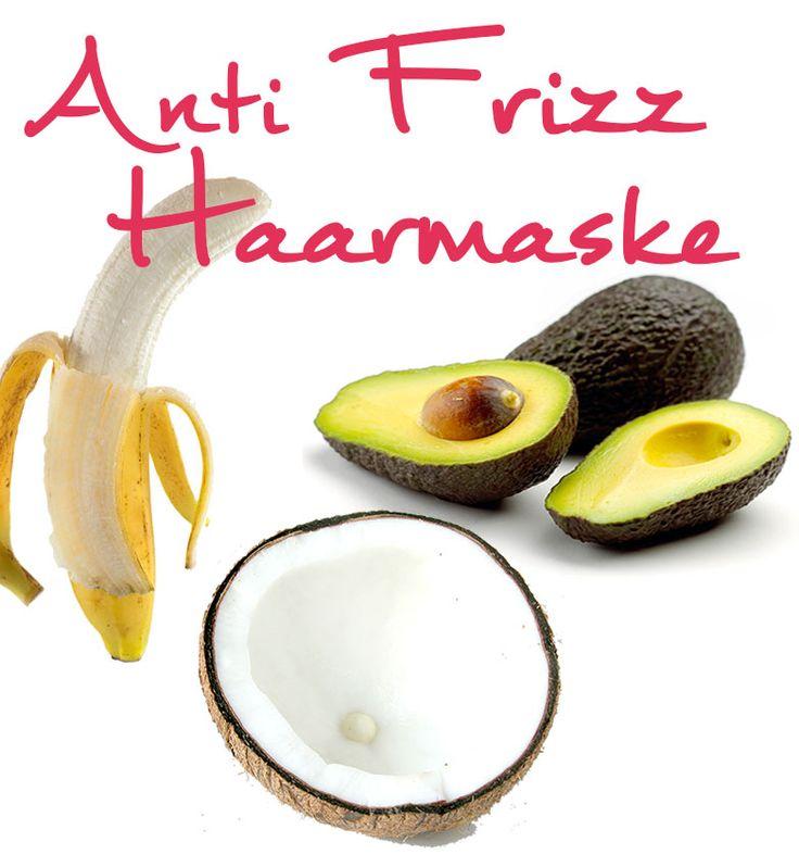 Anti Frizz | Hausmittel Selbermachen | Anti Frizz Haarmaske