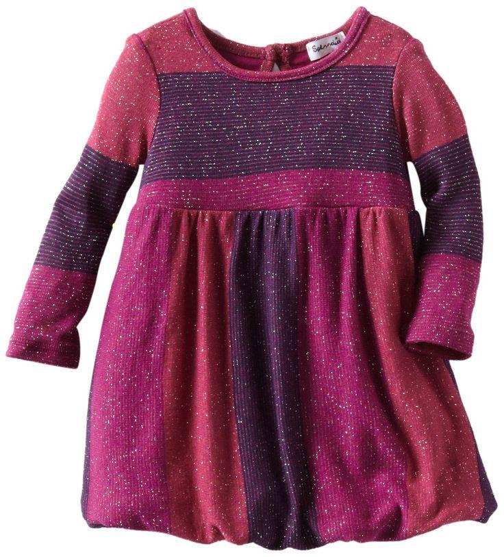 Splendid littles baby girls newborn shimmer stripe dress for Splendid infant