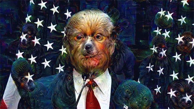 Donald Trump Speech Run Through Google's Neural Network