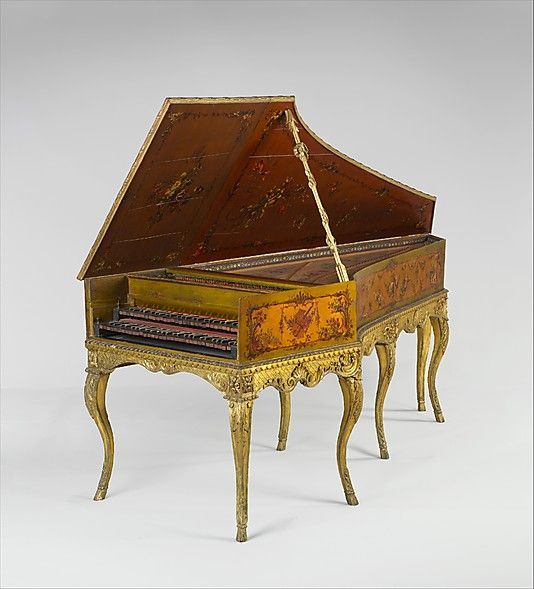 Harpsichord, Louis Bellot, 1742, Paris, France | parlante ...