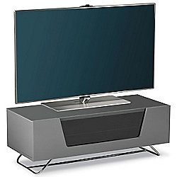 Alphason Chromium Grey TV Stand for up to 50 inch TVs