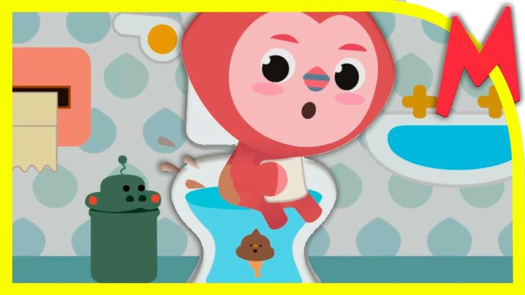 Малыш какает в туалете. Приучение к горшку. Baby toilet training. Aquapo...