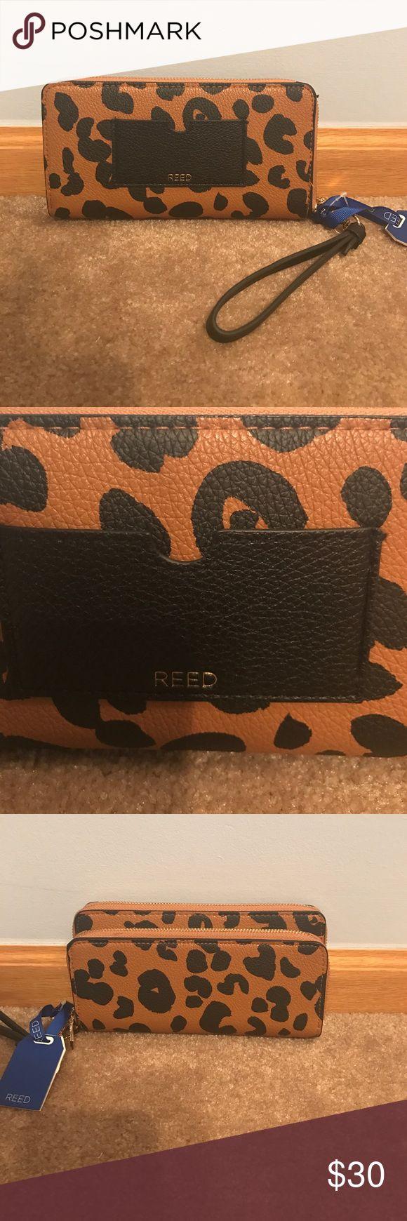 Reed cheetah print wallet NWT Reed for Kohls cheetah print wallet, 4 compartments, tons of room Reed Bags Wallets