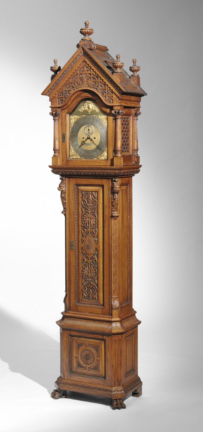Philadelphia Museum of Art - Collections Object : Tall Case Clock