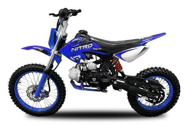 125cc dirtbike nxd m17 crossbike 17 14 manuell pitbike. Black Bedroom Furniture Sets. Home Design Ideas