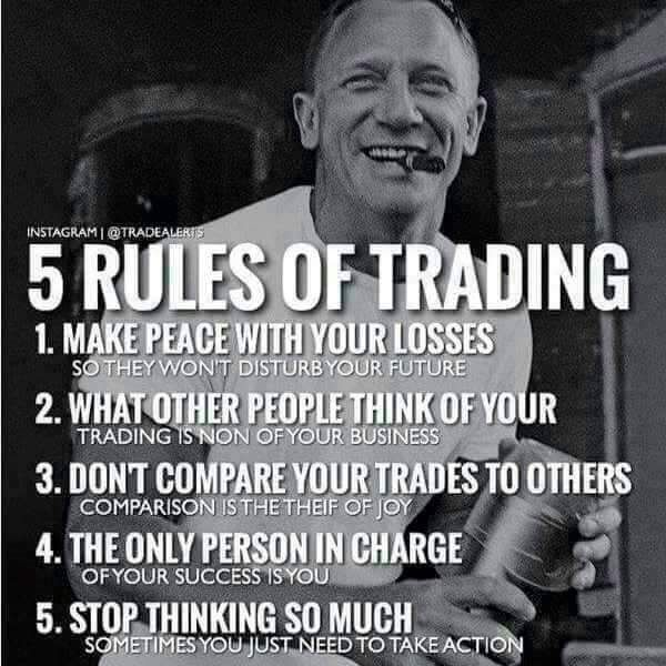 5 Rules Of Trading #Forex #Nadex #iTrade
