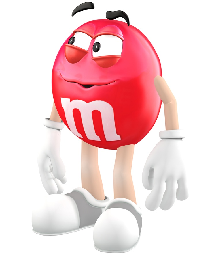 M & M character