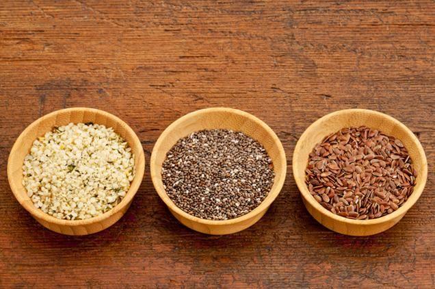 """The 5 Best Foods You Aren't Eating""- good info about:  chia seeds, nutritional yeast, hemp seeds, kefir, & black garlic"