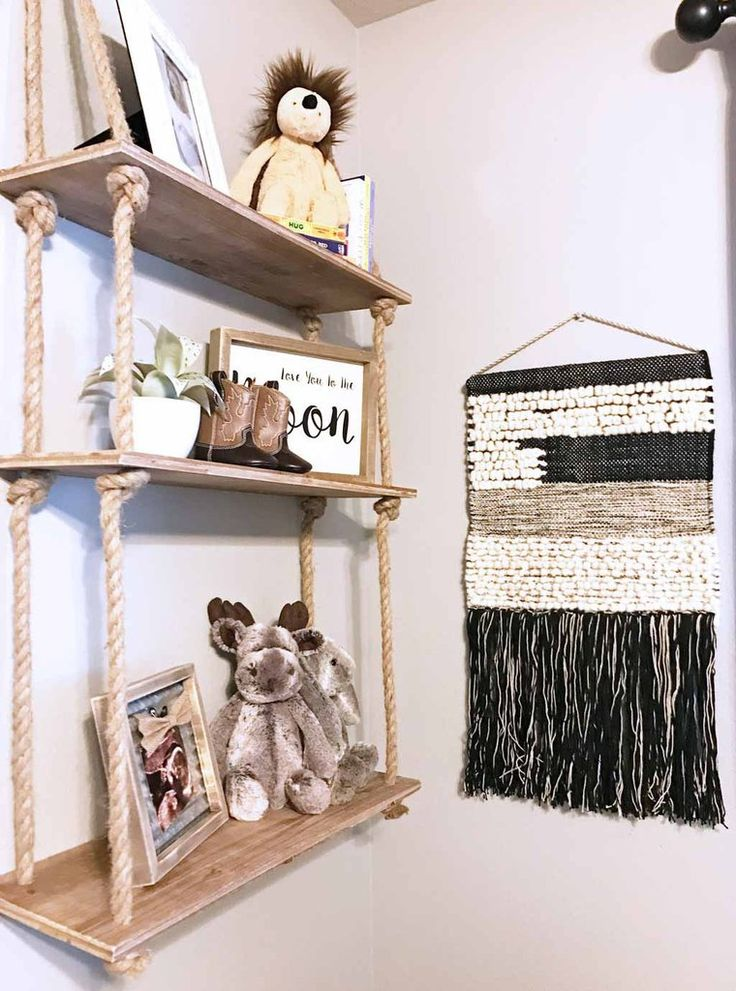 1000 Ideas About Rope Shelves On Pinterest Unique