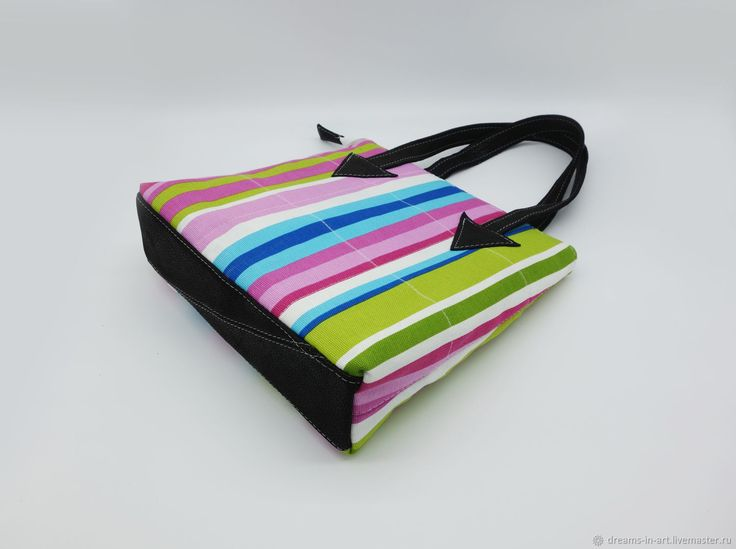 Сумка-пакет (натуральная кожа + текстиль) – купить в интернет-магазине на Ярмарке Мастеров с доставкой - D7RFVRU