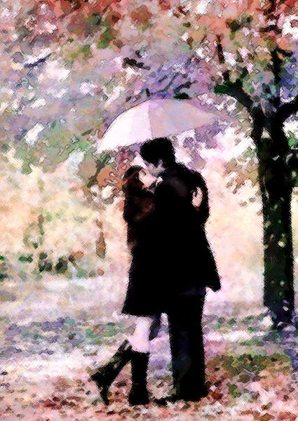 'Rainy Day Lovers' by Sandy Richter