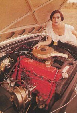 Holden 6cyl Red Motor - manufactured '63 - '80. Increased capacity over the period; 149ci, 179ci, 186ci & 202ci