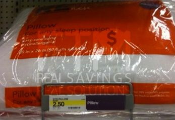 Target Bed Pillows As Low As $.50!
