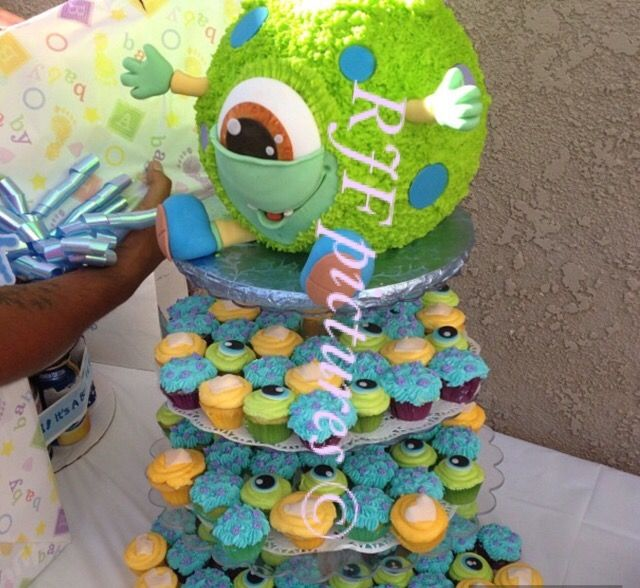 38 best Adelaines First Bday images on Pinterest Monster inc