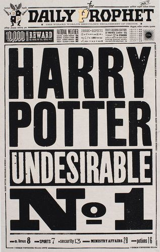 """1: The Quibbler 