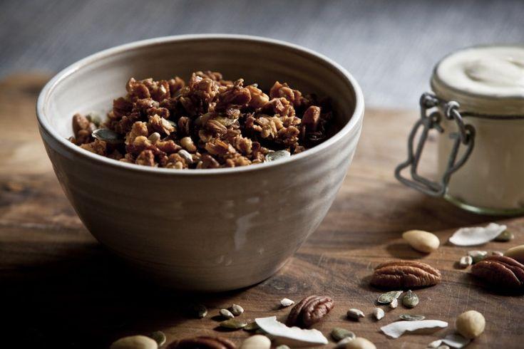 Domácí ořechové müsli