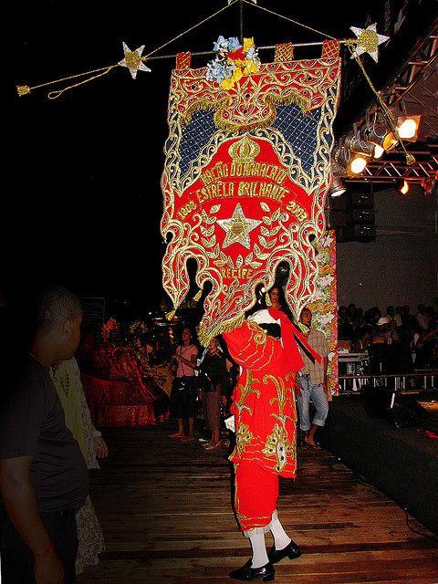 Maracatu Nação Estrela Brilhante de Recife (foto de 2009)