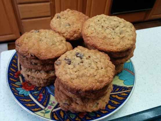 Youve made oatmeal-raisin cookies before, so why try these? Because theyre moist, chewy and loaded with raisins - and theyre better than any youve tried before! From Cuisine Magazine