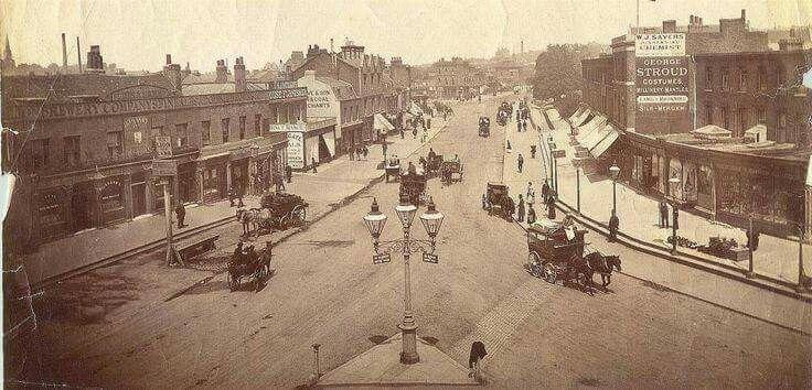 Lewisham High Street, 1890   Victorian london, Old london, Lewisham