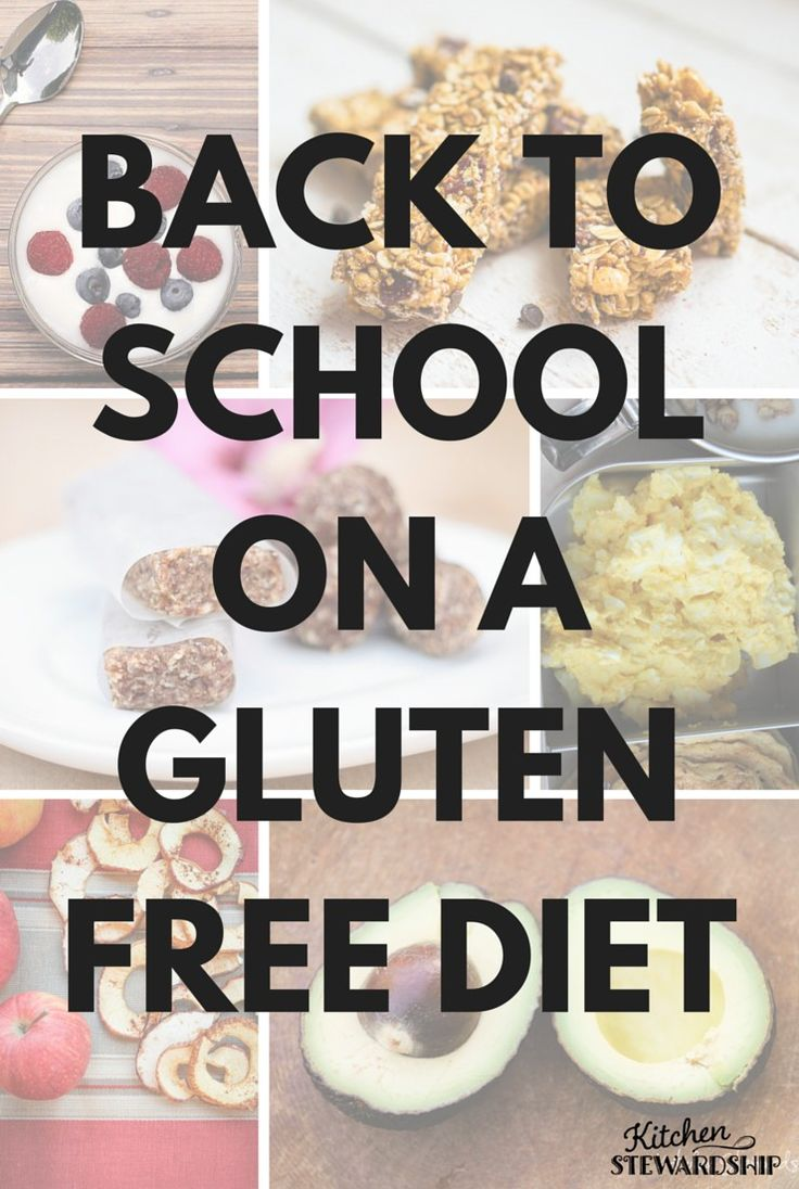 Need gluten free school lunch ideas? Here's a huge list, plus some considerations for peanut allergies.