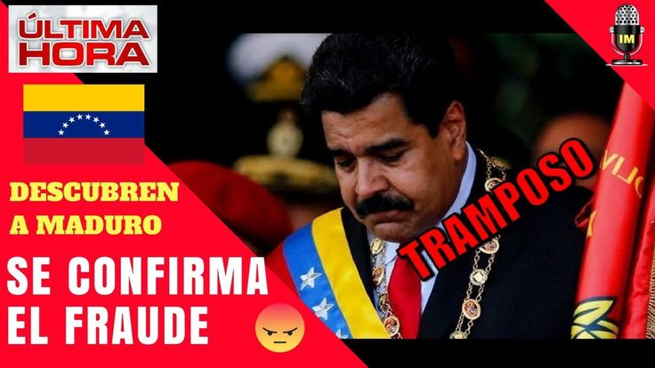 TIEMBLA MADURO: SE CONFIRMA EL FRAUDE ELECTORAL EN CONSTITUYENTE