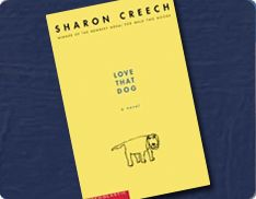POETRY: Love That Dog by Sharon Creech is a book more for the upper elementary students. In this book the character Jack does not like poetry and thinks it's only for girls. However after doing so many assignments he learns to love it. This book would be a great choice for a book for the whole class to read and discuss.