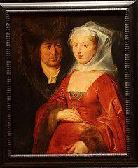 Peter Paul RUBENS, Ansegisel and St. Begga, 1612/1615, Kunsthistoriches Museum.- ANSEGISEL. 2) MARIAGE ET DESCENDANCE, 6: Puis il constate que Pépin LE BREF et son épouse BERTRADE, fille de CARIBERT, possédaient en commun 2 propriétés à Rommersheim et à Rheinbach et tenaient chacun leur moitié de leur père, ce qui suppose un ancêtre commun proche.