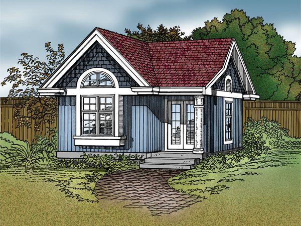 Martina craft cottage house plans backyard cottage and for Backyard cottage floor plans