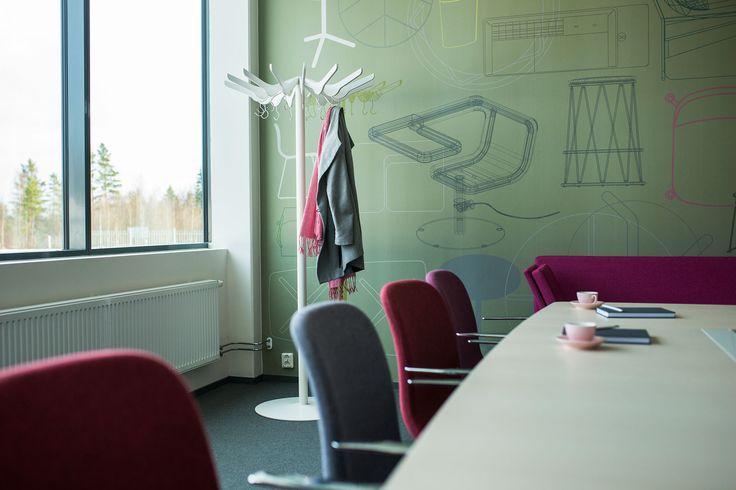 Hanger coat stand, design: Front