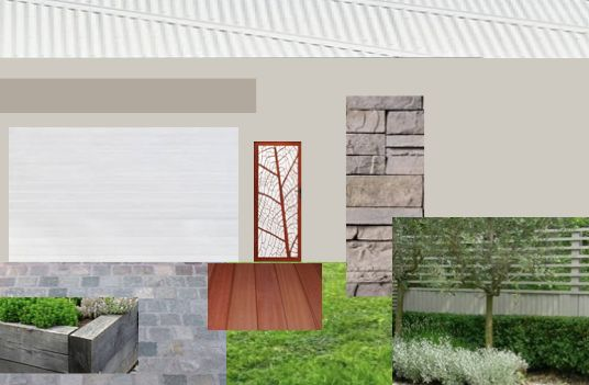 Front facade and yard.