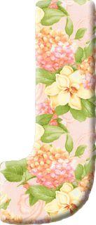 Sementinha Missionária: Alfabeto floral (maiúsculas)