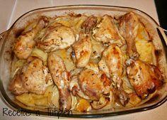 Pollo asado al limón | Comparte Recetas