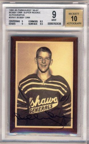 all Bobby orr sports cards | sports memorabilia sports cards nhl graded bgs bobby orr 1