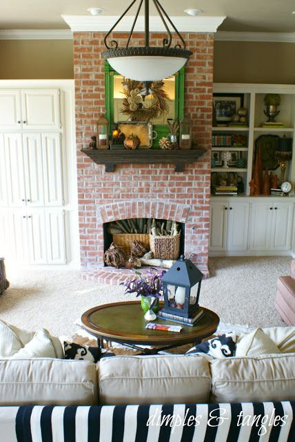 Dimples and Tangles: FALL MANTEL {2012}