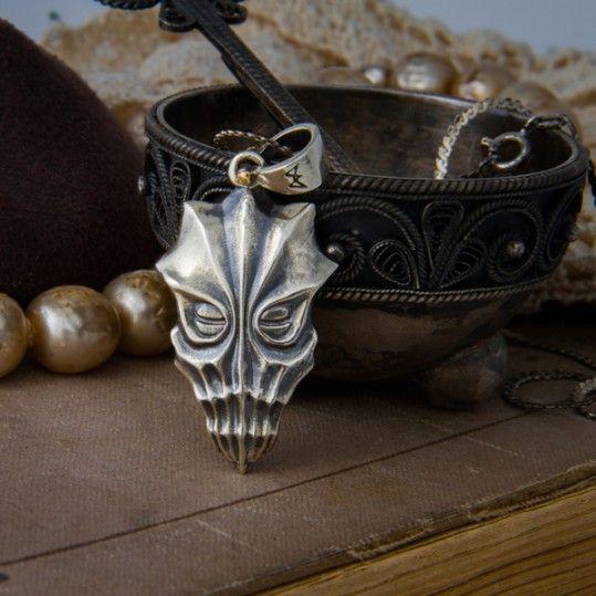Dukaan Skyrim Mask Pendant Accessories