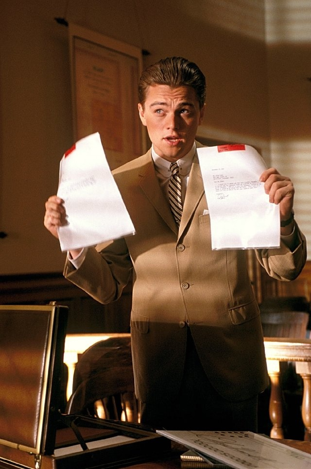 Still of Leonardo DiCaprio in Catch Me If You Can