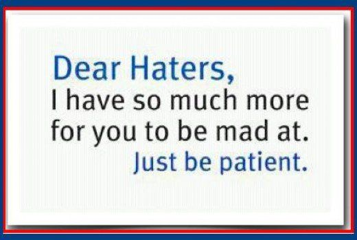 25+ Best Ideas About Haters Funny On Pinterest