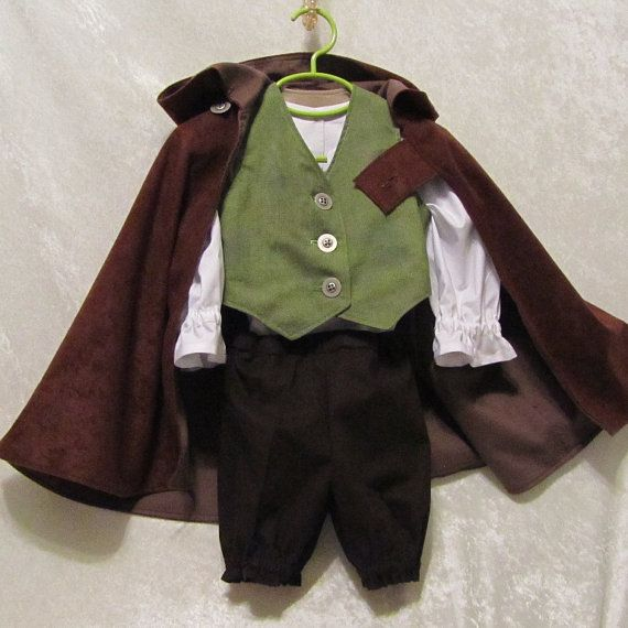 Toddler's Hobbit Costume: All Cotton Fully by EraOfMakeBelieve