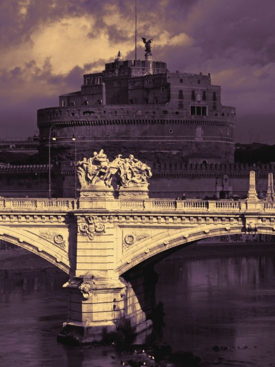Buy Angels and Demons (Castel Sant'Angelo, Rome), Manipulated photograph (C-Type) by Marco Scataglini on Artfinder. Discover thousands of other original paintings, prints, sculptures and photography from independent artists.