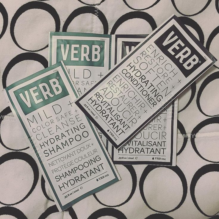 Got some shampoo and conditioner hair samples to try! Might even share with my bf since I got 2 of each! #foilfebruary #samples #verb #verbshampoo #verbconditioner #sephora #shampoo #conditioner #hair #haircare