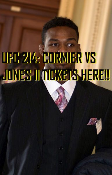 Need a list of UFC events? Well its all right here, and you can now get UFC 214 tickets -http://mmagateway.com/list-of-ufc-events-ufc-214-cormier-vs-jones-ii-tickets-here #UFC214 #tickets
