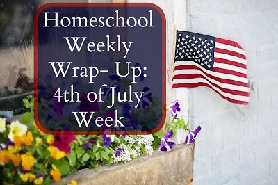 Our Unschooling Journey Through Life: Weekly Wrap- Up: Celebrating the 4th Of July