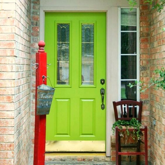 Modern Red Front Door: 110 Best Front Door Colours Images On Pinterest