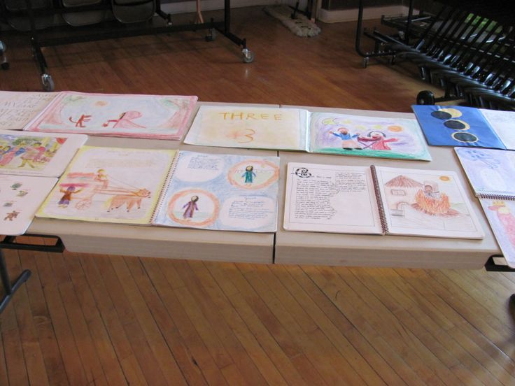 A variety of lesson books created by Tamarack students.
