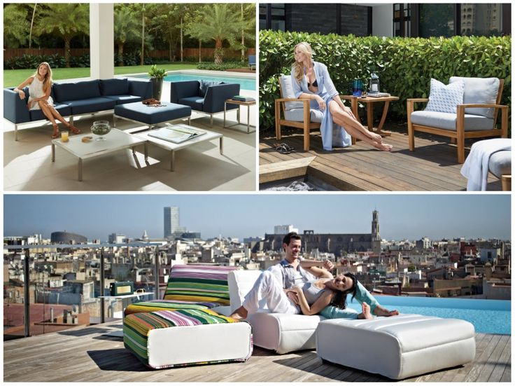 #Outdoor #furniture Collections By Gloster | 50 Luxury Patio Furniture  Collections