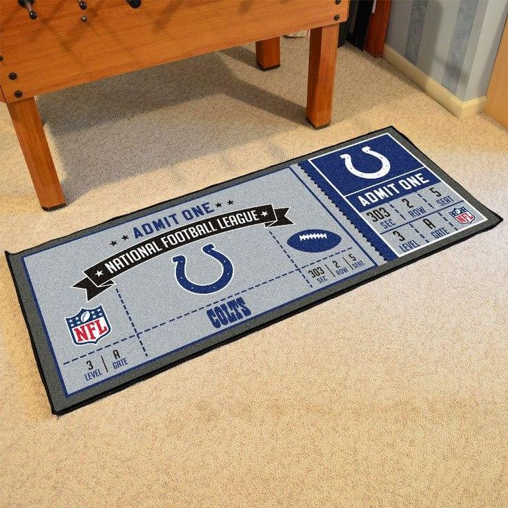Indianapolis Colts Ticket Runner
