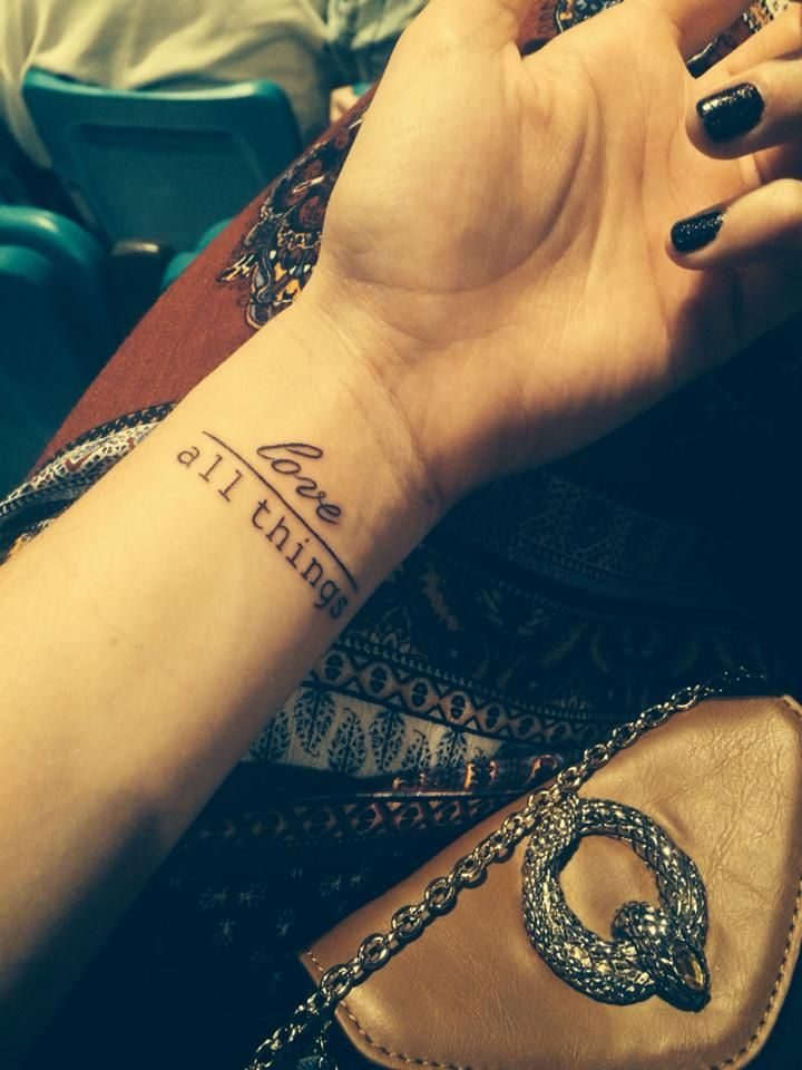 Best 25 1 peter 4 8 ideas on pinterest love one another for Above all tattoo