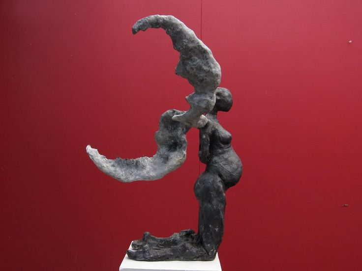 Toby Bell - Winged Ariel 1 - Sculpture